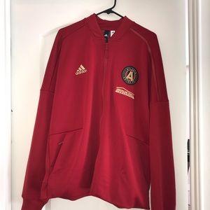 Adidas Atlanta United Red Zip Jacket XL NWT
